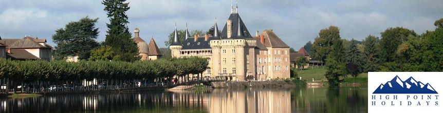 High Point Holidays la clayette chateau self guided walking holiday france
